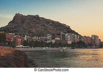 Morning in Alicante, Spain