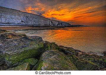 The morning sun am play in UK, Brighton area. Am start photo 5.30am