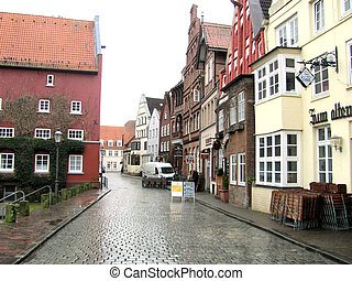 Morning in Lunenburg - The old German town of Lunenburg....
