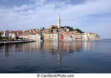 Morning in Rovinj, Istria, Croatia