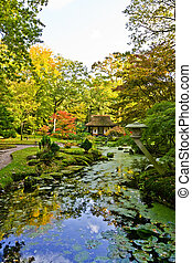 park in Japanese style