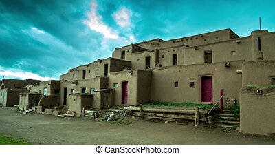 Morning in Taos Pueblo