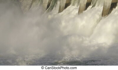 Morning Light on Hydro Dam 02