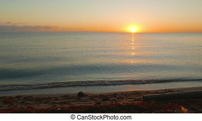 Morning Look at Sunrise - Sun rising over the caribic ocean...