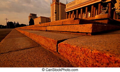 morning Moscow State University slider