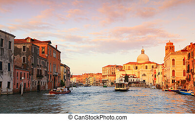 Morning on the Grand Canal