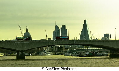 Morning on Waterloo Bridge