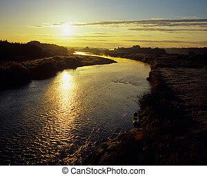 Morning Sun River