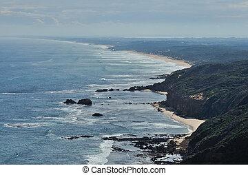 mornington, península, praias
