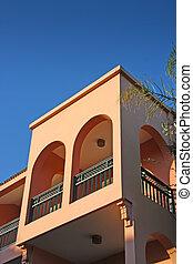 morocaan, balcon