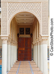Moroccan architecture at Putrajaya, Malaysia