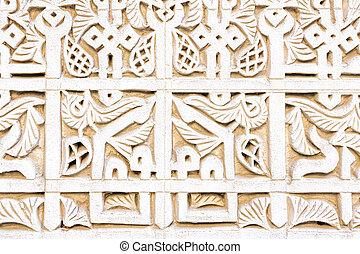 Moroccan architecture detail