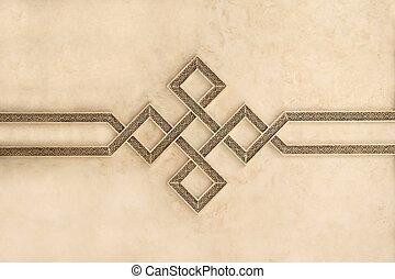Moroccan Architecture Engrave Details