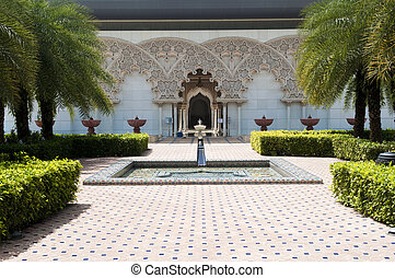 Moroccan Architecture Inner Garden - Beautiful Moroccan...