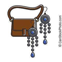 Moroccan culture symbols vector icon - Moroccan culture and...