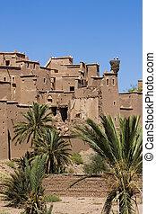 Moroccan kasbah.