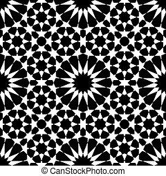 moroccan mosaic seamless - Moroccan pattern as seamless...