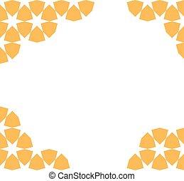 moroccan mosaic template - yellow moroccan zellige mosaic...