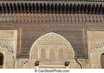 Moroccan oriental architecture