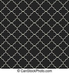 Moroccan pattern - Moroccan style seamless pattern