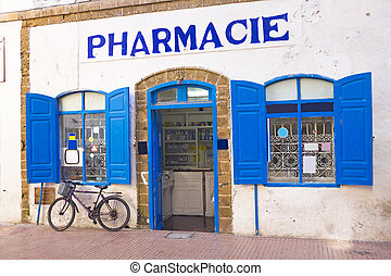 Moroccan pharmacy in Morocco