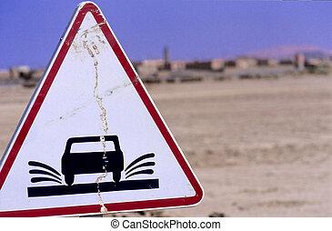 Moroccan road sign no.2