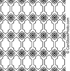 Moroccan style mosaic pattern - Moroccan style mosaic...