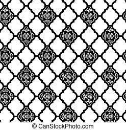 moroccan wallpaper pattern