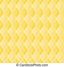 moroccan yellow background - moroccan geometric seamless...