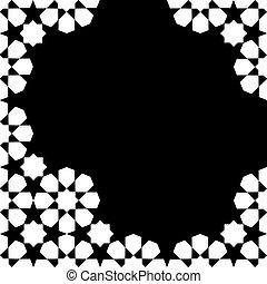 Zellige mosaic template. - Moroccan Zellige mosaic template....