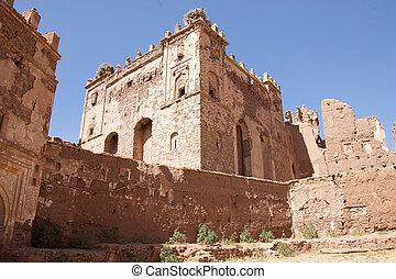 Morocco Kasbah Telouet ruins