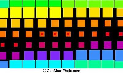 morph square matrix background