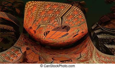 morphed orange complex structures