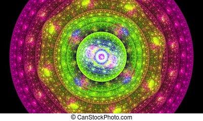 morphing, fractal, płomień, fx