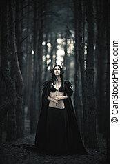 morrigan., istennő, jelmagyarázat