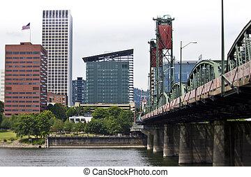 Morrison Bridge Portland Oregon