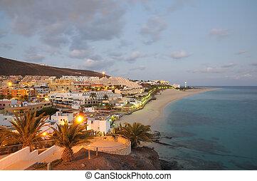 morro , jable, νησί , καναρίνι , fuerteventura , ισπανία