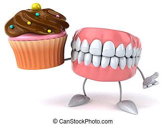 morskab, tænder
