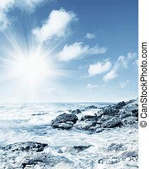 morski brzeg morza