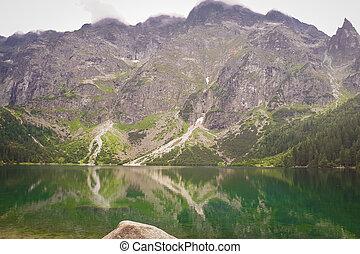 'Morskie Oko' Lake in Tatra Mountains, Poland.