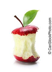 morso, centro, mela