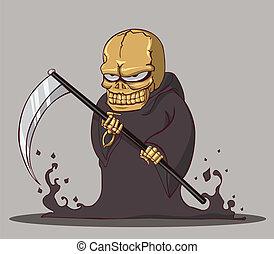 mort, halloween