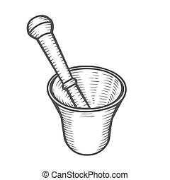 Mortar and Pestle.
