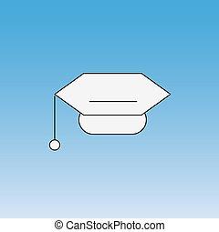 Mortar Board cap graduate - Mortar Board academic cap...