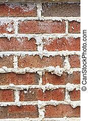 Mortar in Brick Wall Vertical