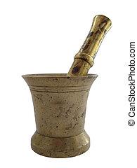 Mortar - mortar and pestle