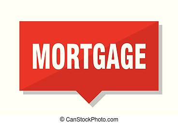mortgage red tag