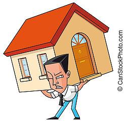 mortgaged