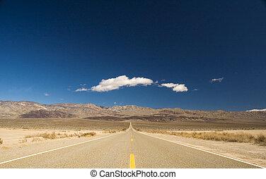 mortos, direito, vale, estrada