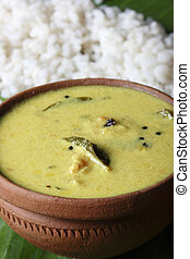 Moru curry or kalan - a traditional kerala dish - Moru curry...
